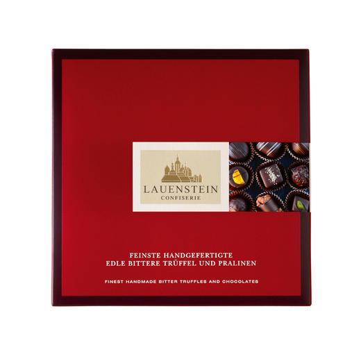 [手工松露酒味夹心巧克力 黑巧礼盒]德国进口LAUENSTEIN巧克力 200g/16粒 商品图4