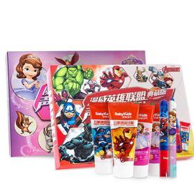 【迪士尼合作款】舒客宝贝B2儿童电动牙刷套盒(一个机身+2支牙膏+2个刷头)