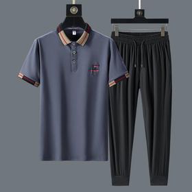PDD-JRLX200806新款时尚气质纯棉休闲运动套装TZF