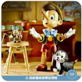 预售 Super7 迪士尼 匹诺曹 Pinocchio 可动 终极版 复古