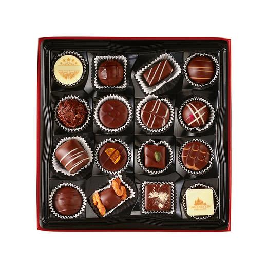 [手工松露酒味夹心巧克力 黑巧礼盒]德国进口LAUENSTEIN巧克力 200g/16粒 商品图3