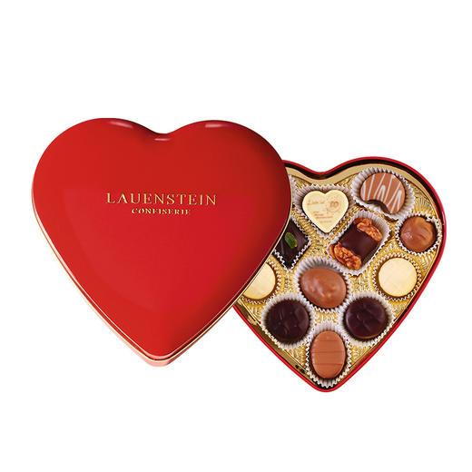 [手工松露酒味夹心巧克力 爱心礼盒]德国进口LAUENSTEIN巧克力 150g/13粒 商品图2