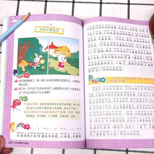 【开心图书】2年级上册统编版同步作文+阶梯阅读+送看图写话+送作文起步 B 商品图12