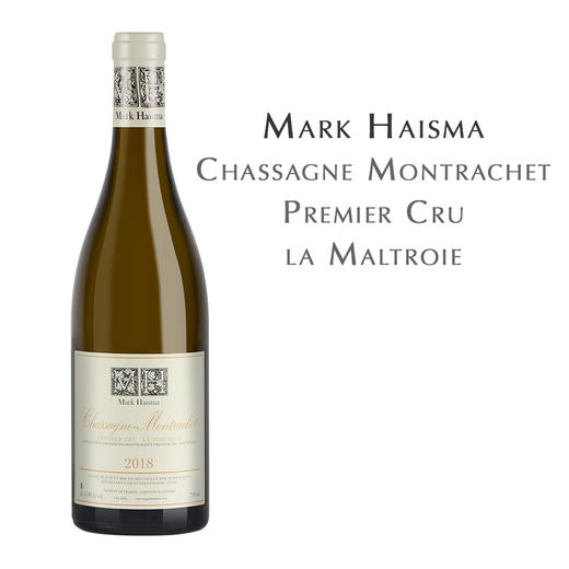 马克海斯玛莎萨涅-蒙哈榭蒙特叶园白葡萄酒 Mark Haisma, la Maltroie, Chassagne Montrachet 1 Cru 商品图0