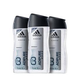 请给男人一点爱买一送二 共3瓶adidas阿迪达斯男士沐浴露套装二合一持久留香体家庭装 250ml瓶3