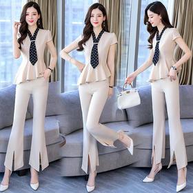 个性时尚,优雅简约气质修身套装HR-HMQY922