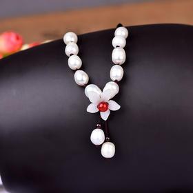 RHX010新款时尚优雅气质简约珍珠锁骨链TZF