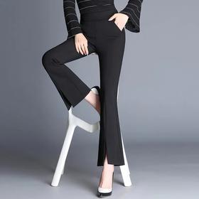 新款显瘦垂感,休闲开叉鱼尾西装裤 AL913