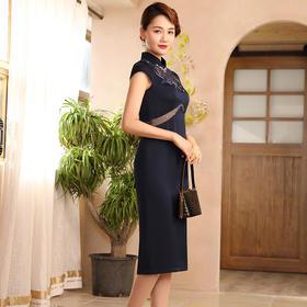 DLQ-A2582新款气质刺绣改良版连衣裙TZF