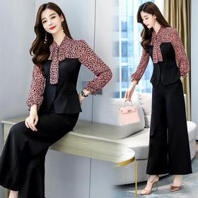 时尚潮流,优雅长袖两件套CQ-RSLD8505