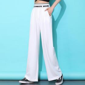 BD-ALD160新款时尚气质休闲薄款宽松高腰垂感阔腿裤TZF
