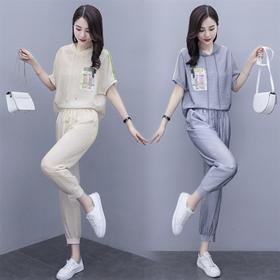 时尚宽松,舒适简约两件套HR-BX1301