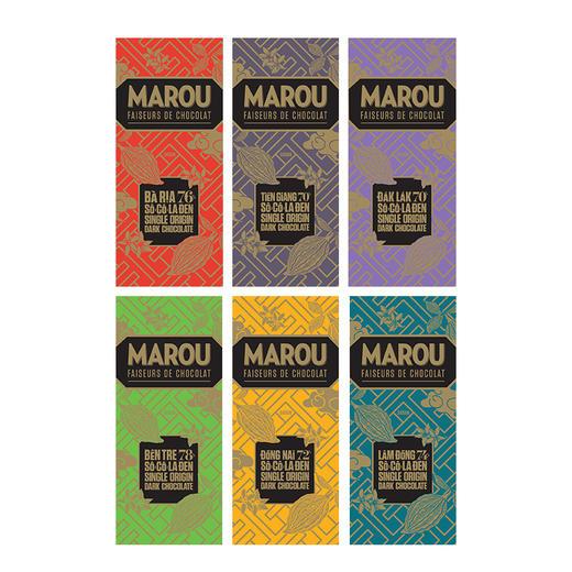 [Marou 6大产区小礼盒]精选六大可可单源产地  (共6块,24g/块) 商品图2