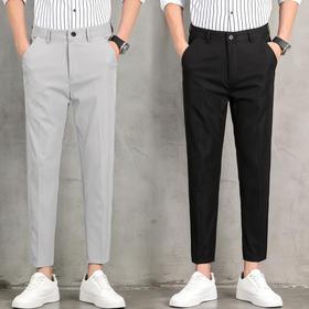 QYF-CG6066新款潮流时尚气质休闲免烫九分小脚西裤TZF