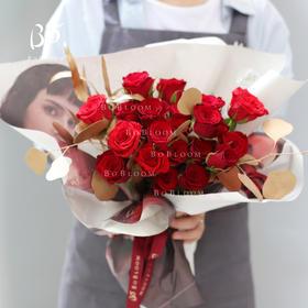 BoBloom x Stellaluna(19枝红玫瑰)