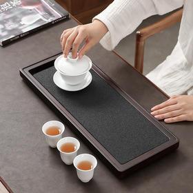 创意无孔氧化铝矿石茶盘家用排水式简约吸水功夫茶具干泡茶盘