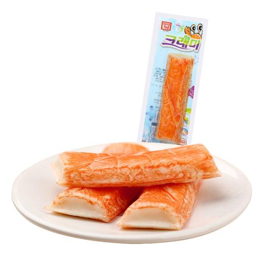 【半价特惠】江浙沪包邮【进口】客唻美组合 奶酪鳕鱼饼(原味)+蟹肉棒(原味)各3个 19.9 商品图1