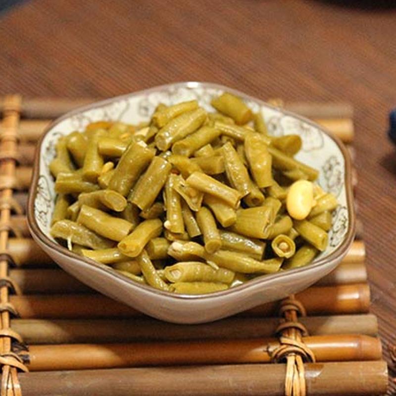 竹溪农家腌制泡菜酸豇豆袋装 商品图2