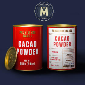 [Marou  可可粉]单一产地  独具风味 250g/罐