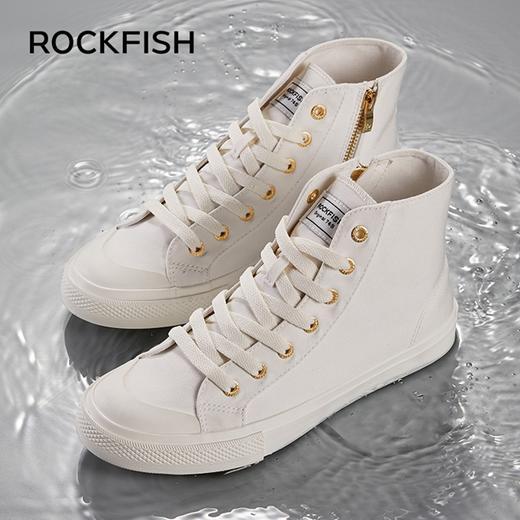 不怕水的英国 Rockfish 小白鞋!梅根王妃怀孕都穿,防雨防污,显腿长! 商品图12