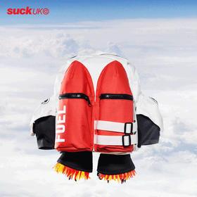 英国Suck UK火箭双肩包旅行小学生书包潮轻便旅行儿童背包卡通包