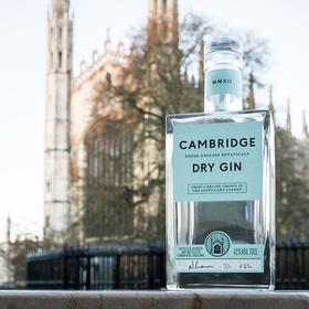 [Cambridge剑桥干式金酒]国会用酒  艺术酿造  42%ABV 700ML  单瓶赠送剑桥汤力水1瓶