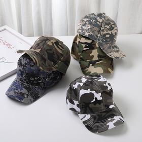 YL-MC新款韩版时尚休闲迷彩鸭舌帽TZF
