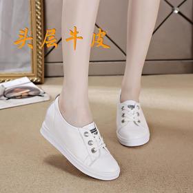 LMSN-A03-1新款真皮内增高小白鞋TZF