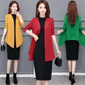 BCYD-LSM20B-288新款时尚优雅气质长袖针织开衫外套TZF