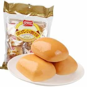 盼盼新款法式小模面包奶香味320g/袋|松软可口 口感细腻 奶香浓郁【休闲零食】