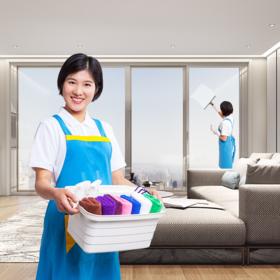 【2人4小时保洁】398元2人4小时/次 保洁+整理(或擦窗)建议120平方以内家庭购买