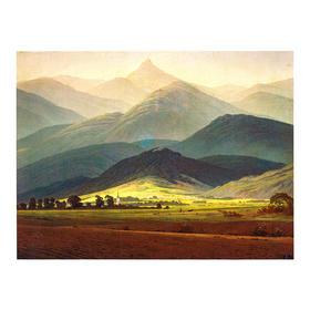 《Riesengebirge的景色》大卫巨人山