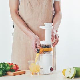 日本tomoni无线原汁机榨汁机家用小型炸水果汁机渣汁分离多功能 无线迷你 水冲即净 拆装便捷 渣汁分离