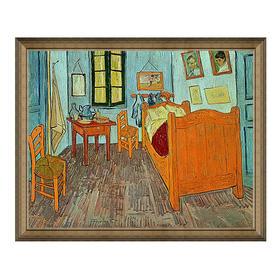 梵高《梵高的卧室》原作版画