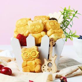 珠穆朗玛多乐熊造型蛋糕网红办公室面包糕点营养早餐代餐食品400g/箱