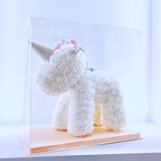 【七夕专享】网红玫瑰花独角兽 粉色 白色 商品图1