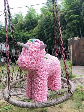 【七夕专享】网红玫瑰花独角兽 粉色 白色