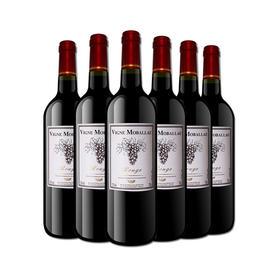 【法国经典】莫堡红葡萄酒750ml*6