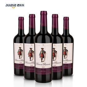 雷沃男爵西拉干红葡萄酒