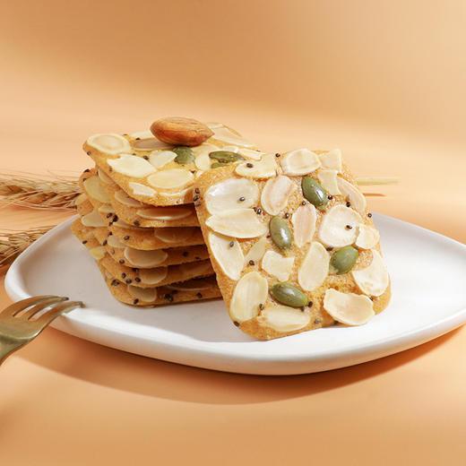 【好麦多】奇亚籽燕麦牛乳坚果酥60g抹茶味原味酥性饼干零食小吃60g/袋 商品图4