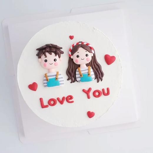 【七夕快乐】LOVE YOU(条纹情侣款) 商品图0