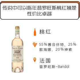 2018年丹派酒庄邦多尔桃红葡萄酒 Domaine Tempier Bandol Rosé 2018