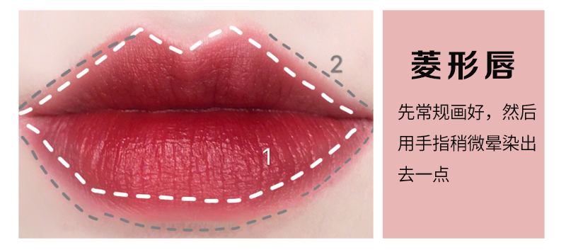 【全球名品·美丽笔记】唇形画法大全,整容级口红画法