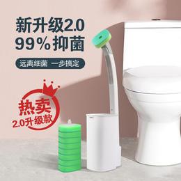 【用完即扔 自带清洁剂】MOYORI一次性可抛式马桶清洁刷 自带清洁液 有效去污 优选