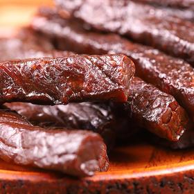 内蒙古阿纳牧场·手撕牛肉干 | 3斤肉做1斤纯肉干,牛香浓浓,柔韧好嚼