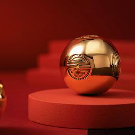 朱炳仁·铜 禧寿金球,掌柜推荐,全黄铜打造,盘玩在手,转福纳喜