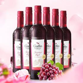 嘉露家族庄园夏日红葡萄酒整箱装750ml*6
