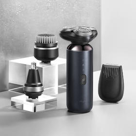 【一机四用:剃须、鼻毛剪、修鬓角、洁面】olybo高性能多用途电动剃须刀A6s