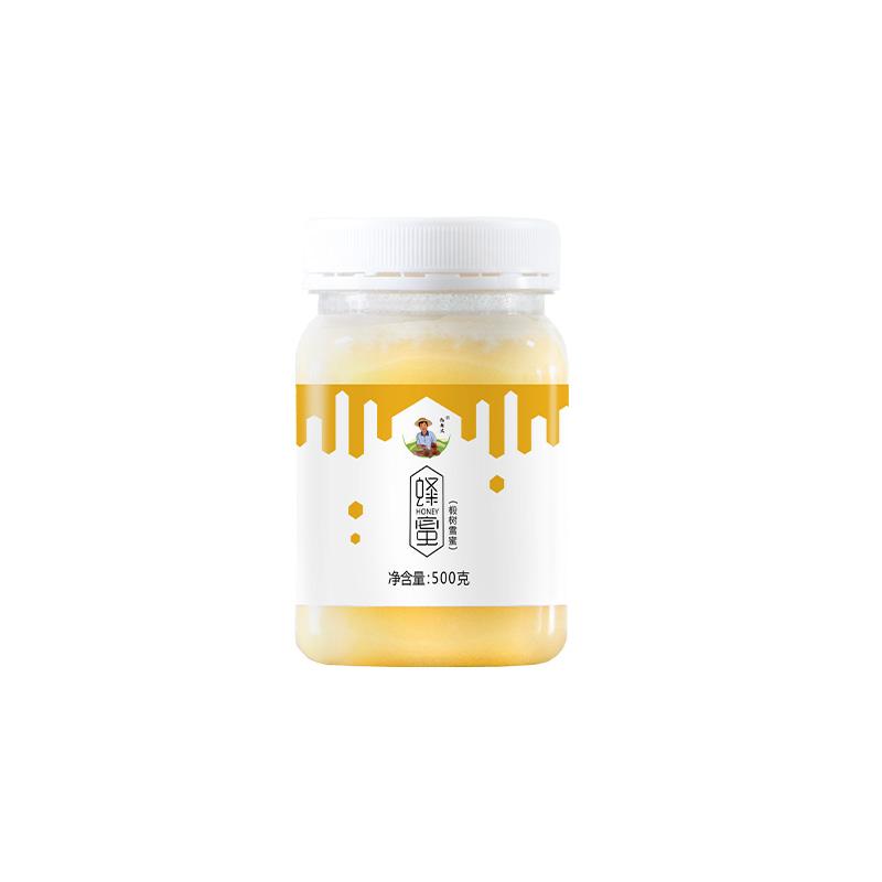 【预售到12月15日发货】精选   长白山天然椴树蜜雪蜜蜂蜜 凝如羊脂   500g 商品图5