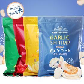 【网红爆款】韩国进口趣莱福虾片 garlic shrimp巨型蒜味240g